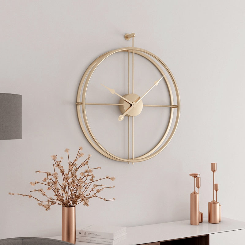 Elegant Geometric Circle Wall Clock