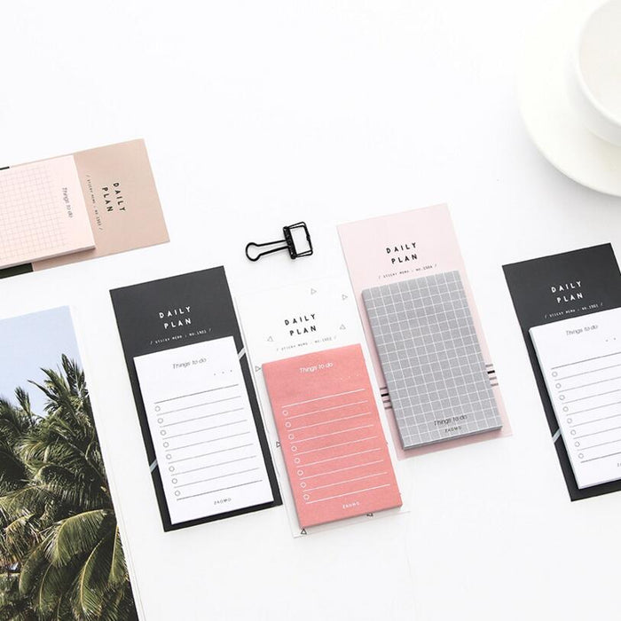 Modern To-Do List Sticky Note Pad