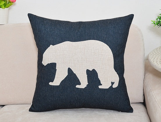 Nordic Animal Pillow Covers