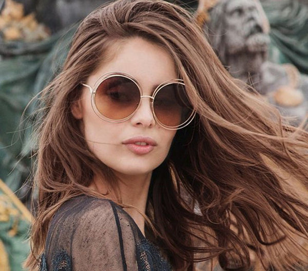 Oversized Retro Sunglasses - Free Shipping