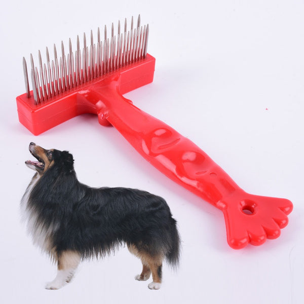 Rake Comb For Thick Long/Short Hair Dogs -  - 1