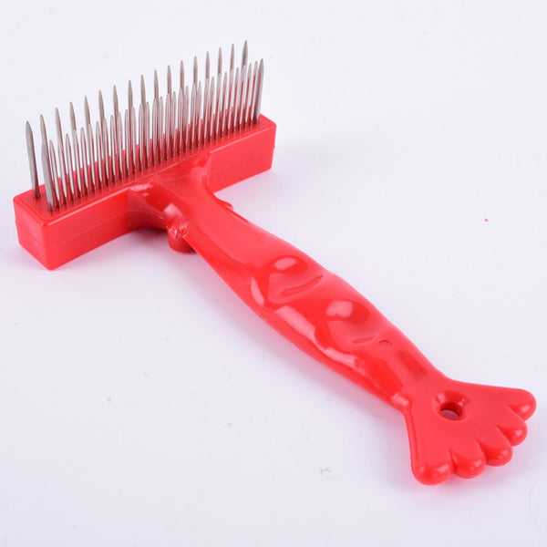 Rake Comb For Thick Long/Short Hair Dogs -  - 4