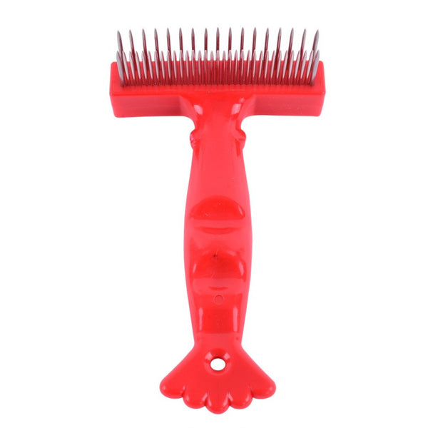 Rake Comb For Thick Long/Short Hair Dogs -  - 6
