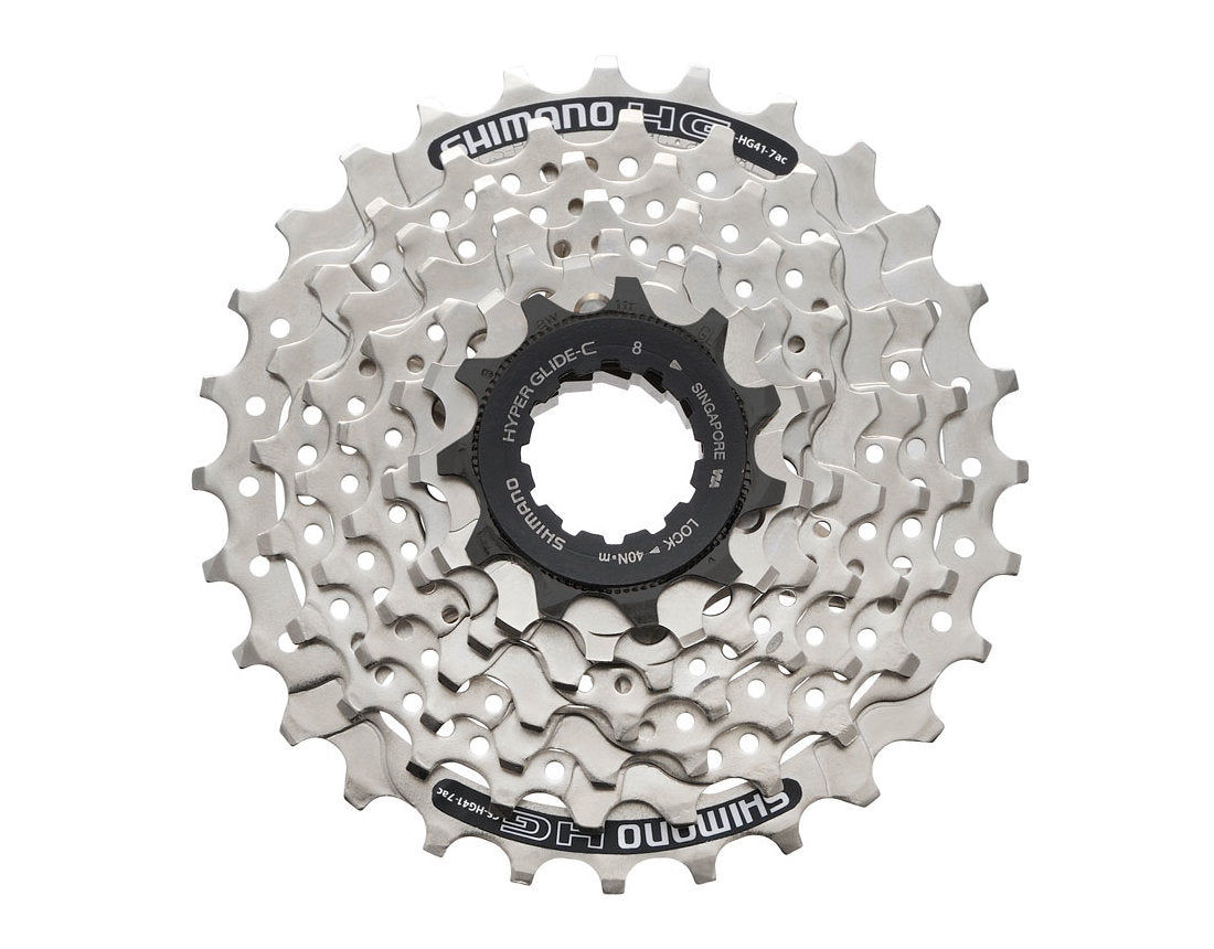 f7c09c9be6c Shimano Cassette Sprocket CS-HG41-7 11-28T 7 SPEED