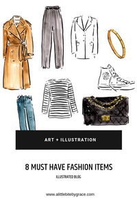 8 must have fashion items.