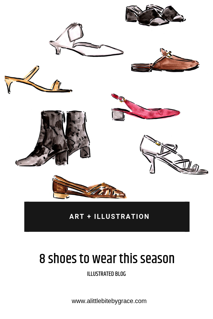 8 shoes to wear this season