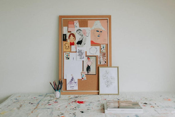 How to create an inspirational Moodboard with Sydney Illustrator Grace from Alittlebitebygrace