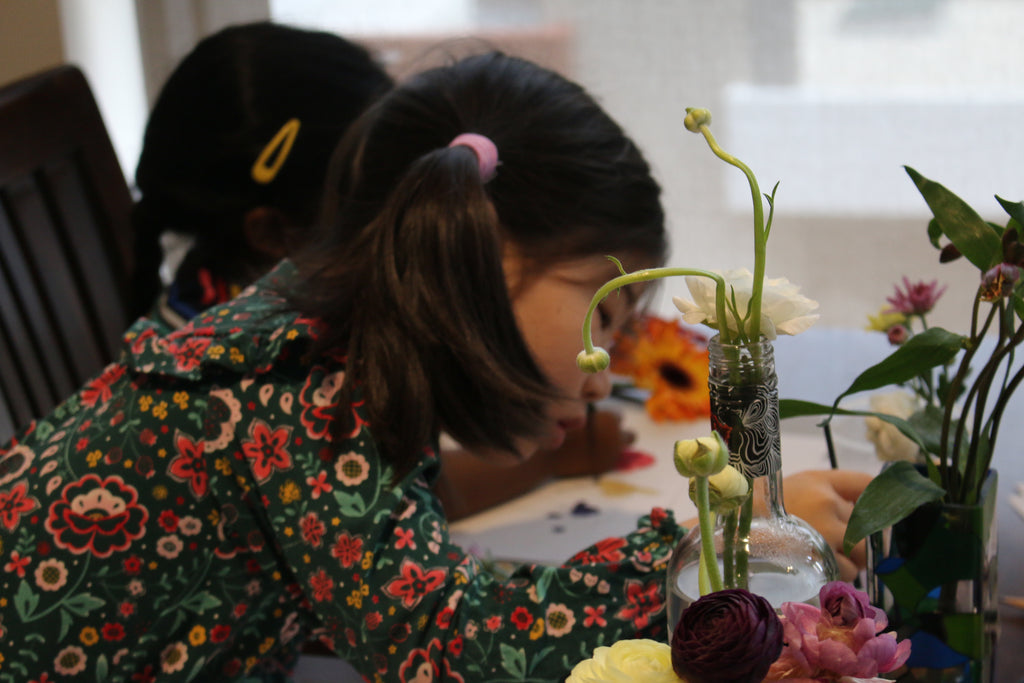 Holiday Botanical Illustration Art Class for Kids with Sydney Illustrator Alittlebitebygrace
