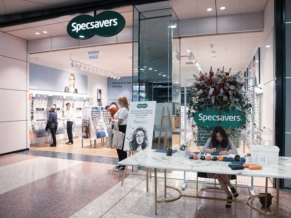 Specsavers Live Personalisation with Sydney Artist A little bite by Grace