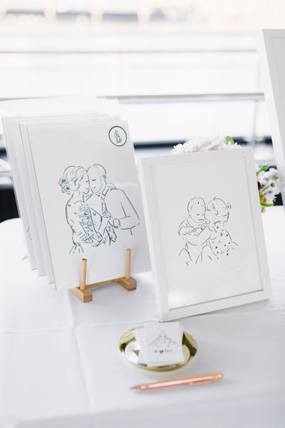 Wedding and Events Showcase Alittlebite by grace Illustration