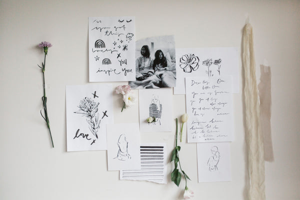 Creating Moodboard with Sydney Illustrator A little bite by Grace