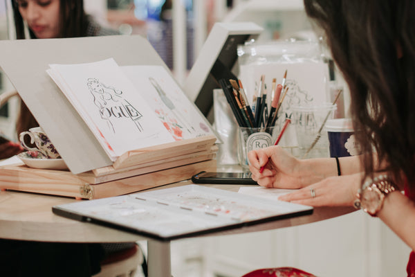alittlebitebygrace-sydney-illustrator-fashion-live-illustration-brand-activations