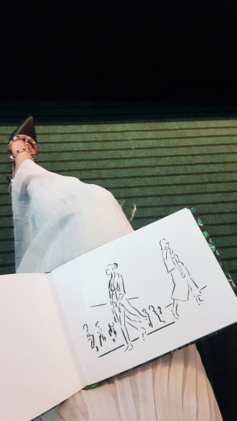 NEWCASTLE FASHION WEEKEND ILLUSTRATION
