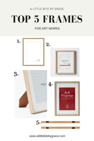 Art+Frames+for+artworks+by+Sydney+Illustrator+alittlebitebygrace