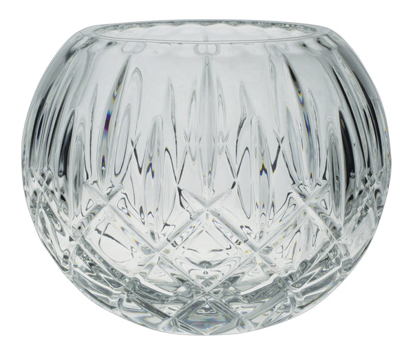 Bohemia Crystal Sheffield Rose Bowl