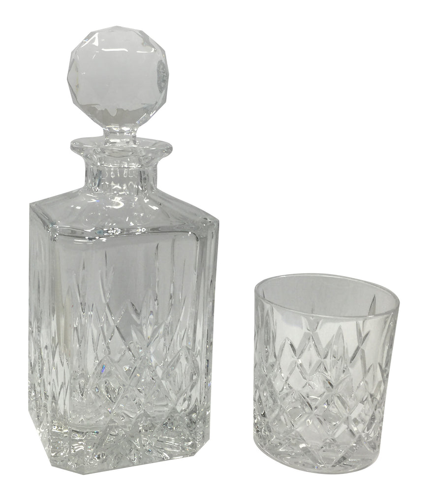 Bohemia Crystal Brixton 7 Piece Whisky Set