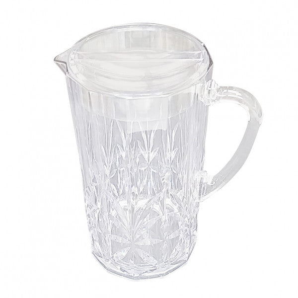Acrylic Crystal Cut Pitcher