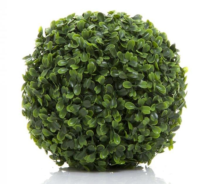 Faux Topiary Ball - Two Sizes Available