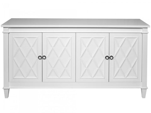 White Diamond Four Door Buffet