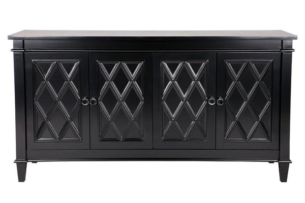 Black Diamond Four Door Buffet