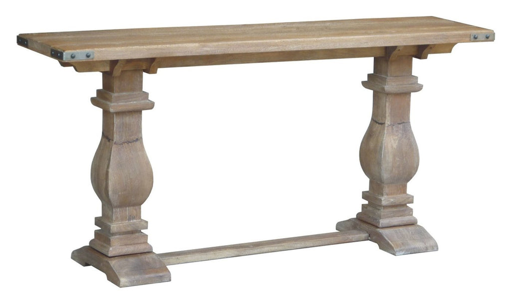 Hamptons Collection Solid Hardwood Console Hall Table