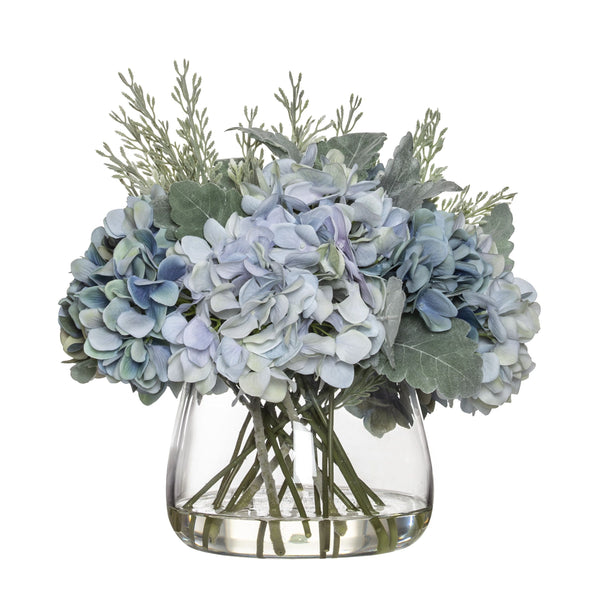 Hydrangea Bouquet Mix In Classic Bowl