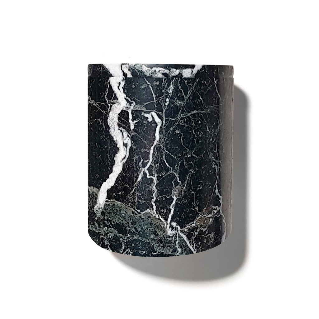 Luxury Black Marble Candle Holder