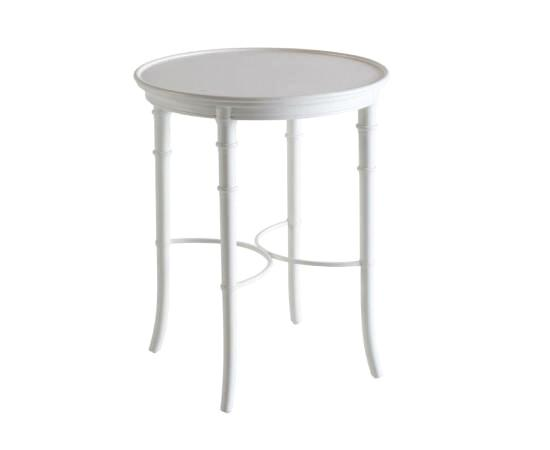 Bayview Side Table In White