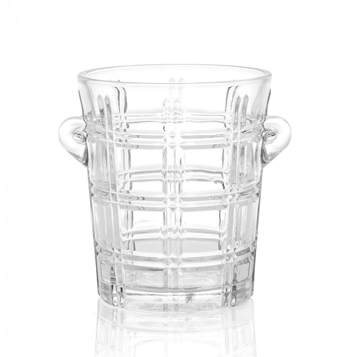 Elegant Glass Ice Bucket
