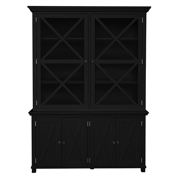 Newport Display Cabinet In Black