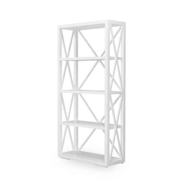 Newport Bookshelf In White