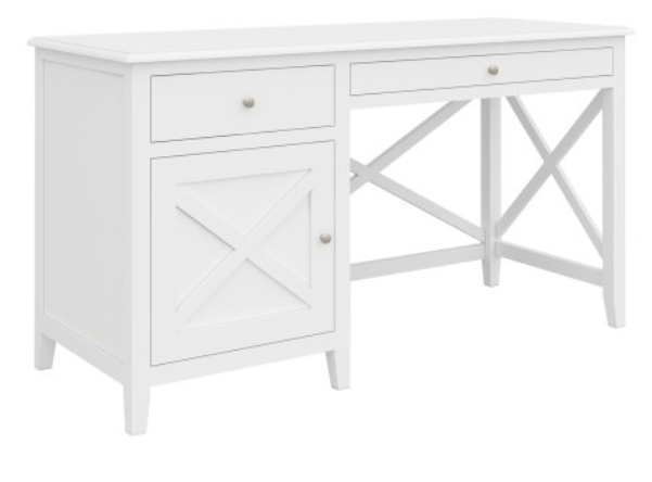 South Hampton Desk In White - SPECIAL ORDER