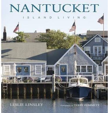 Nantucket Island Living Book By Leslie Linsley