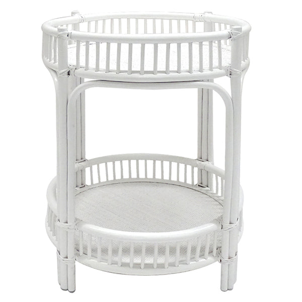 West Hampton Bar Caddy In White