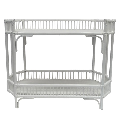 East Hampton Bar Caddy In White