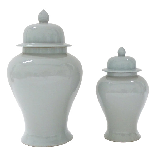 Duck Egg Blue Ginger Jar - Two Sizes Available