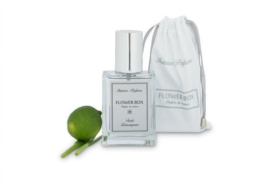 Flower Box Home Fragrance Fresh Lemongrass - Interior Perfume