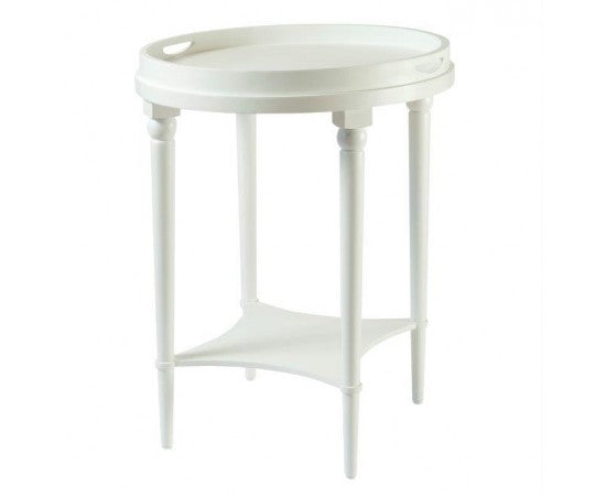 Bayview Tray Table In White