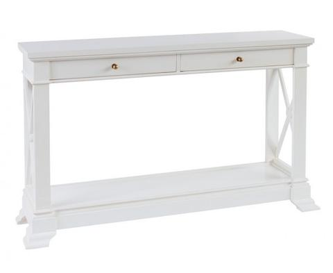 Bayview Console Hall Table In White – LUXE FURNITURE   HOMEWARES b5fad5fe7