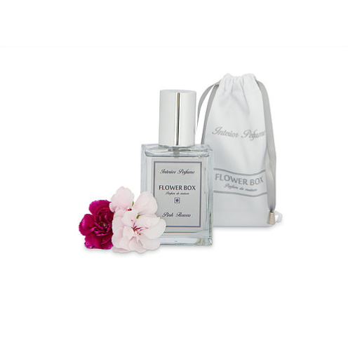 Flower Box Home Fragrance Pink Flowers - Interior Perfume