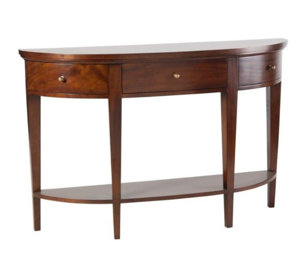 Provence Semi Circular Hall Table - Three Colours Available