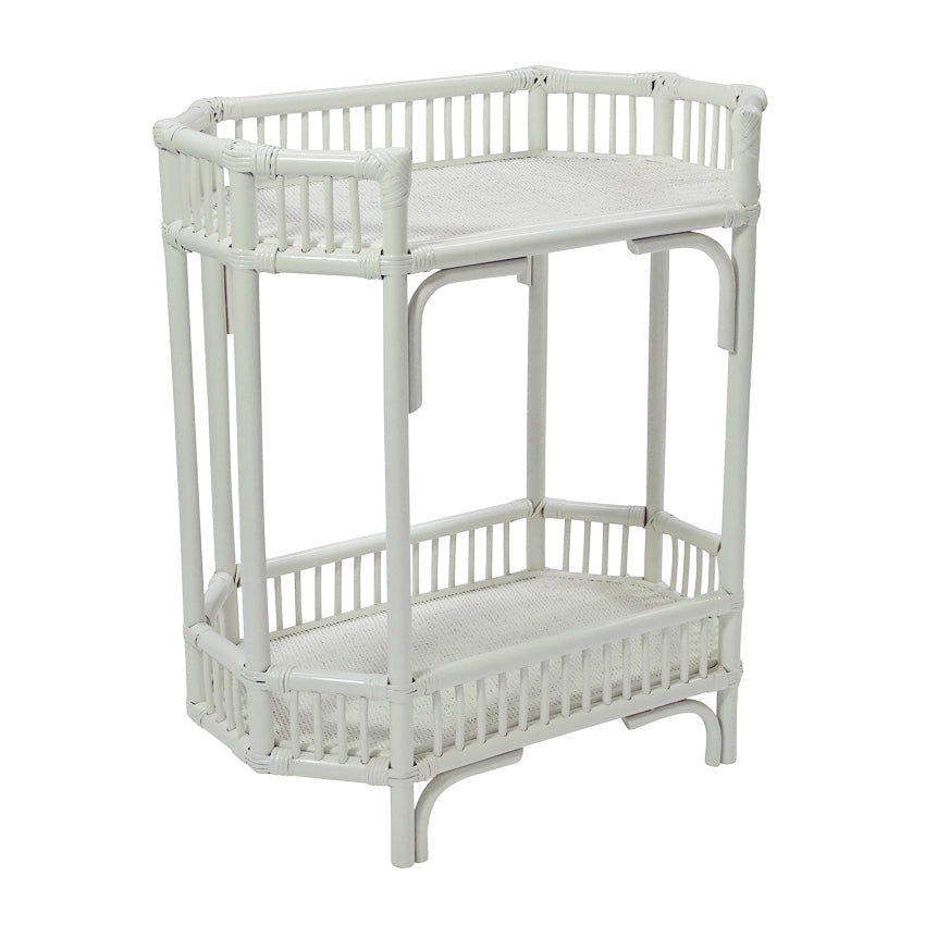 South Hampton Bar Caddy In White