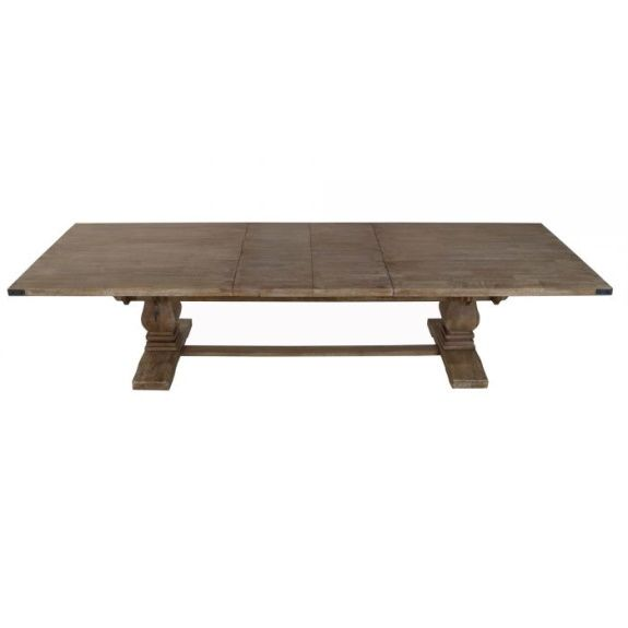 Hamptons Collection 258cm - 348cm Extension Dining Table