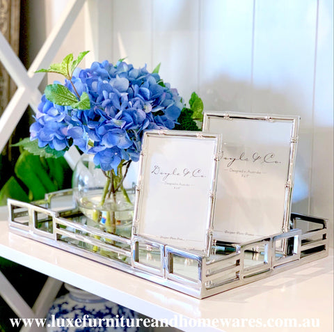 Vienna Rectangular Mirrored Tray