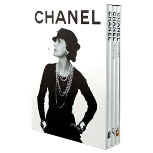 CHANEL Fashion, Fine Jewellery & Perfume Books Three Volume Set