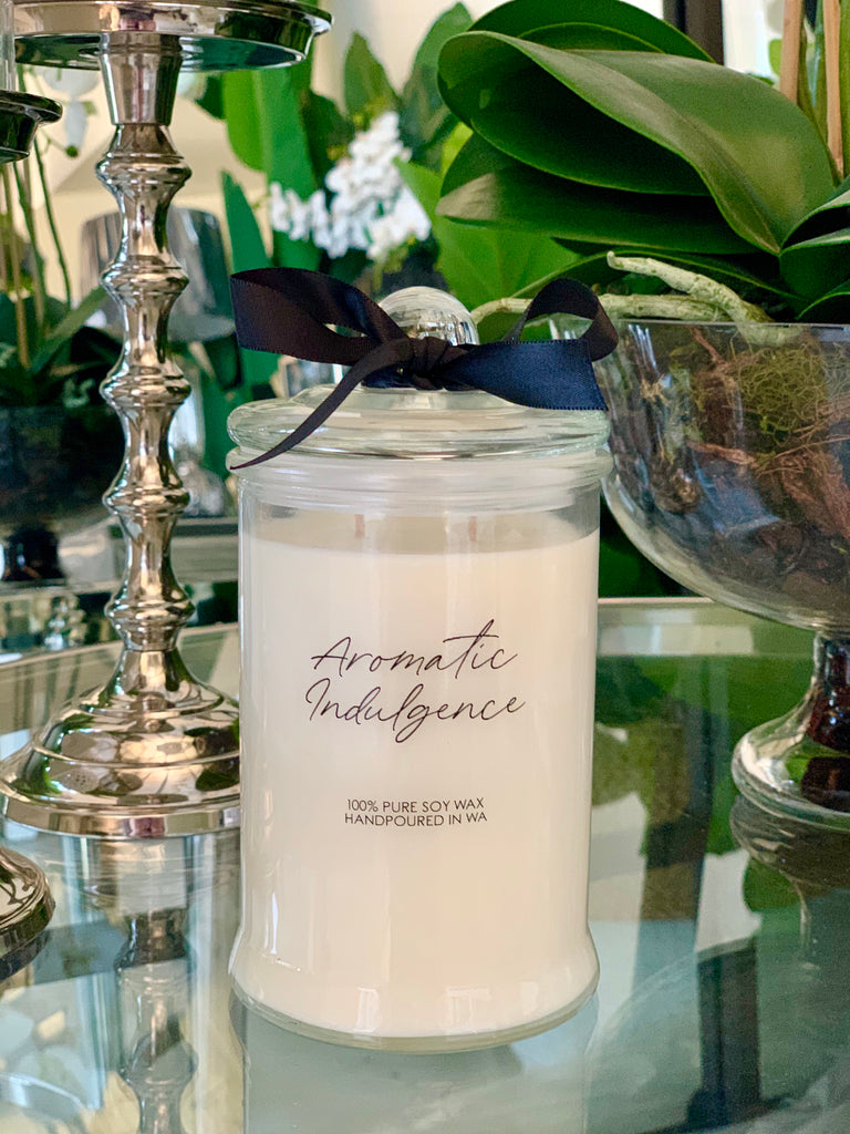 Aromatic Indulgence Candle - Lemongrass & Persian Lime