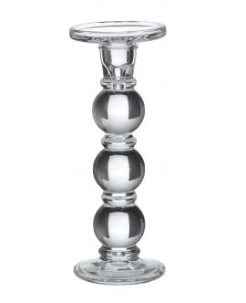 Glass Candle Stick In Large
