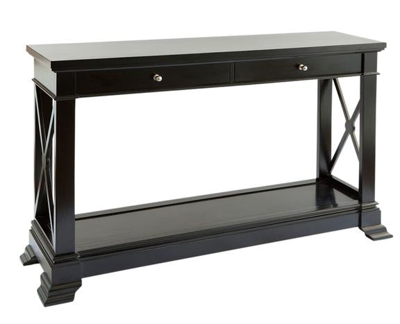 Bayview Console Hall Table In Black