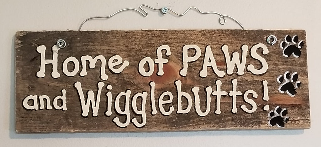 Home of Paws and Wigglebutts