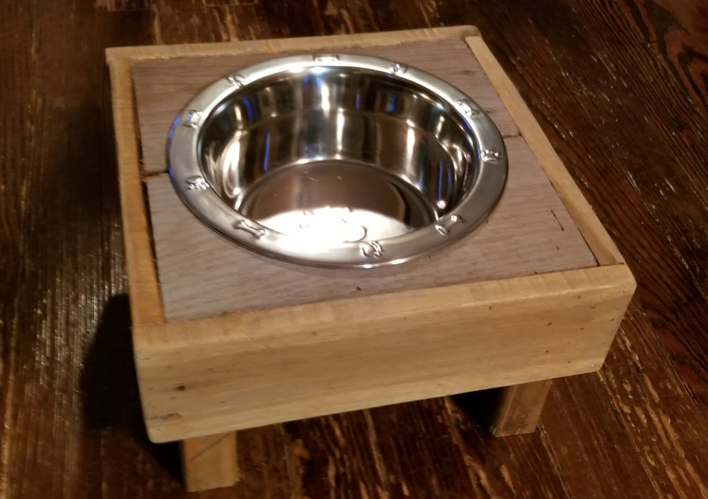 Single Large Dog Feeder or Water Stand